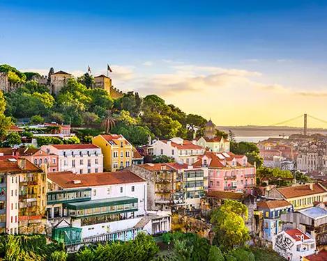 Lissabon: Vlucht & hotel